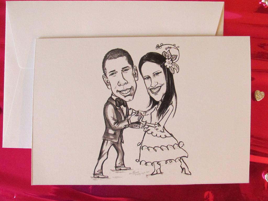 Partecipazioni Matrimonio Caricature.Le Partecipazioni Spiritose E Con Le Caricature Degli Sposi
